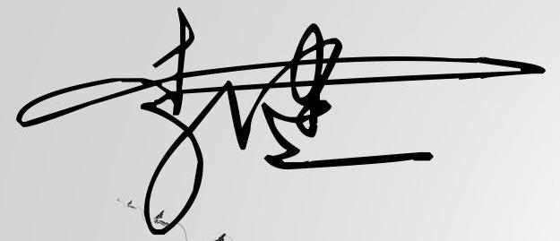 艺术一笔签名设计李健图片