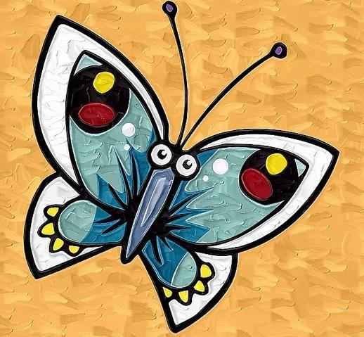 蝴蝶怎么画