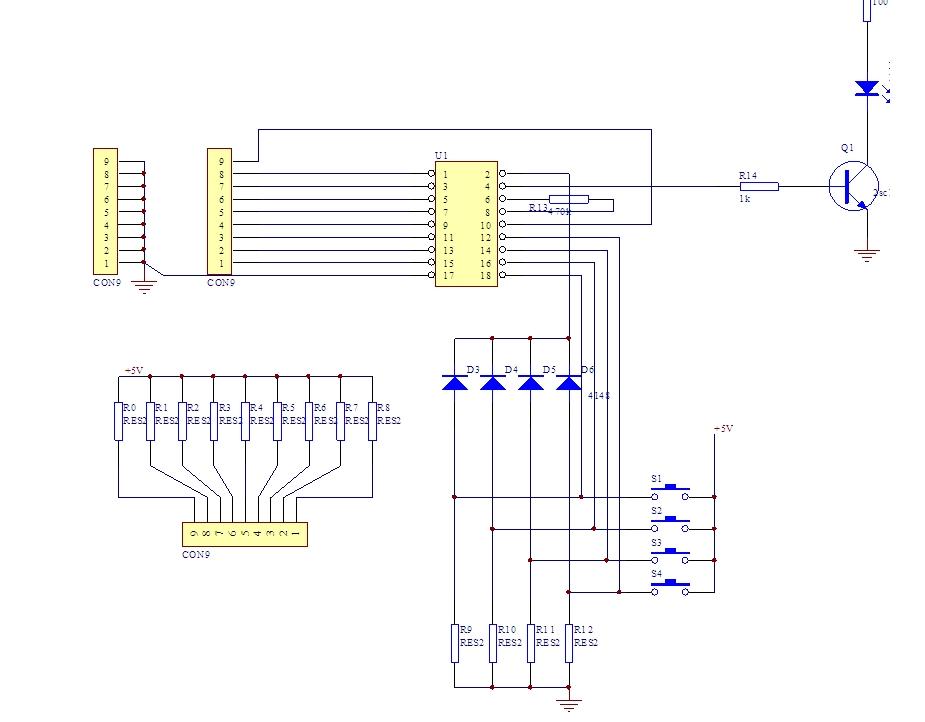 这俩图总之看着糊涂,是红外遥控电路,用的芯片是pt2262和pt2272,谁给