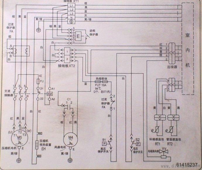 接线图的看法: 电气接线图分一次接线图和二次接线图,由于一次设备