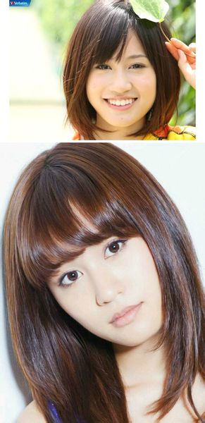 脸小发量少的女生适合什么发型?短发会好看么?附图图片