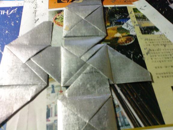 锡箔折法盒子大全图解