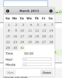 求一个HTML5日期时间控件。-学网-中国IT综合