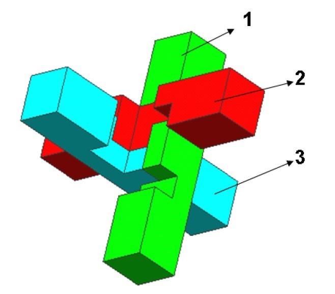 孔明锁6根解法图
