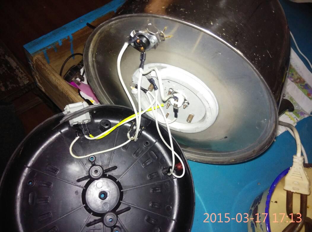 这个电水壶的接线正确吗