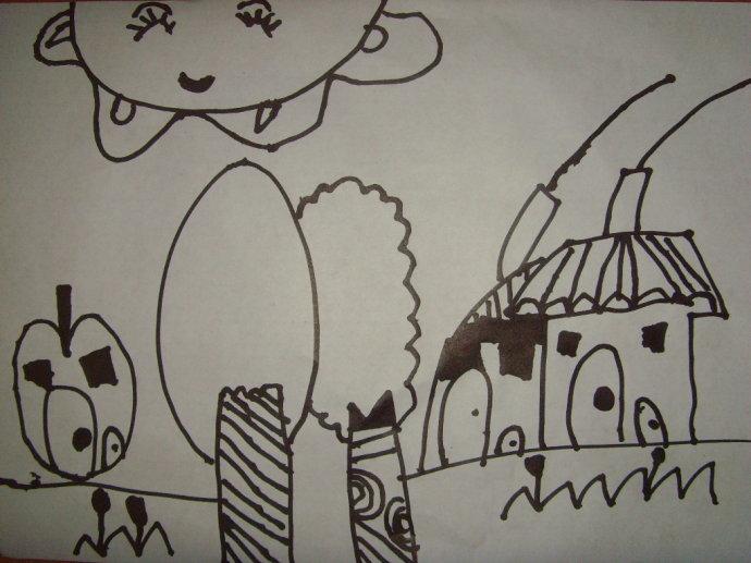 幼儿简笔画╠拼音