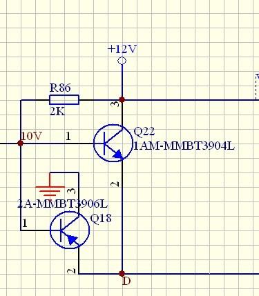 发射极和发射极相连,集电极不相连,那它们在电路中的作用是?