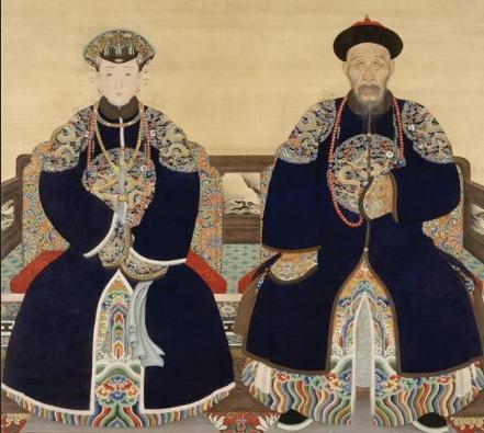 求清朝皇帝妃嫔皇子福晋画像,谢谢啦!图片
