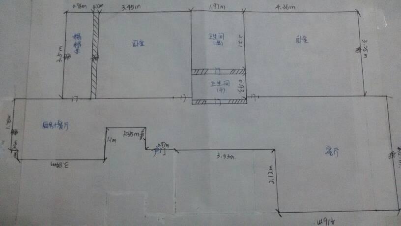 平面布置图手绘简单
