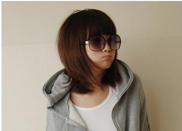 急求可爱清新的短发发型.不能烫染.我还是学生图片
