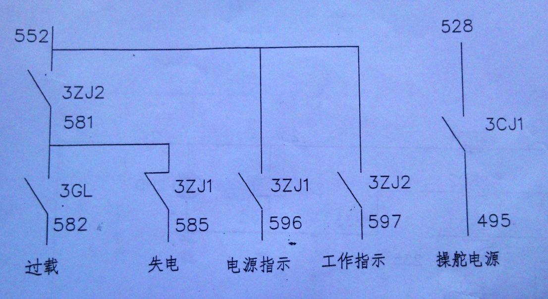 220v直流电机电路图,求叙述此图电气工作原理