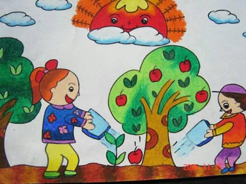 儿童画画图片图片