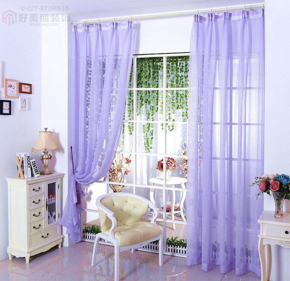 这样的客厅,配上浅蓝色的欧式沙发,,想装个紫色的窗帘