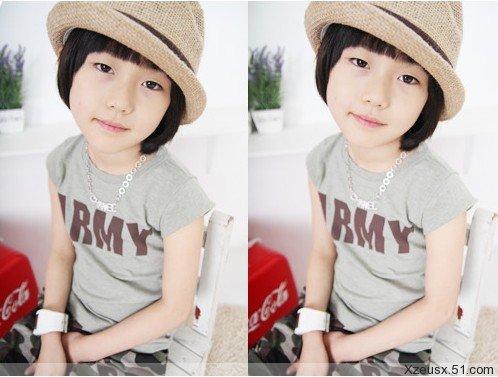 谁知道这个帅气又可爱的韩国男童星是谁啊?答对追加分数