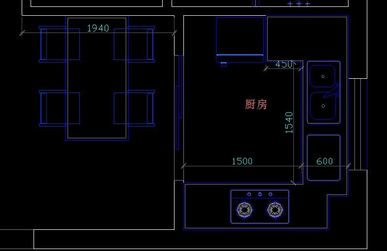 室内设计装修尺寸厨房问题.上海骄虫室内设计图片