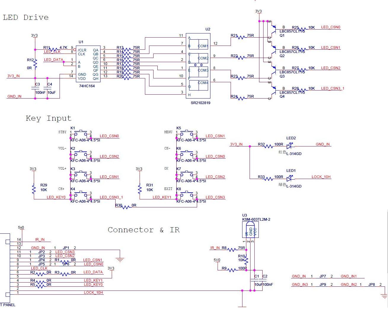 求单片机at89s52控制以下电路c语言程序,七个按键使四位数码管依次