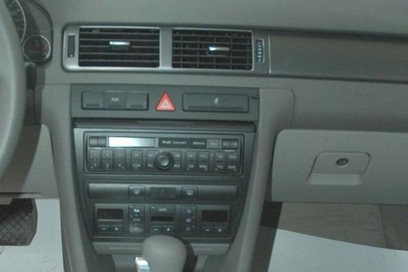 请问:老款奥迪a6原车音响带密码,且是有收音机的那种a6,要改装成带dvd