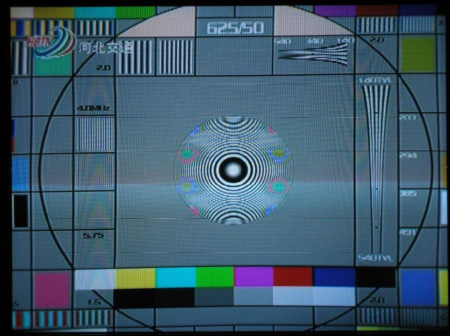 电视台无信号时屏幕的动态图片