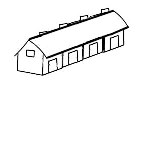 一排房子的简笔画,求画,快点