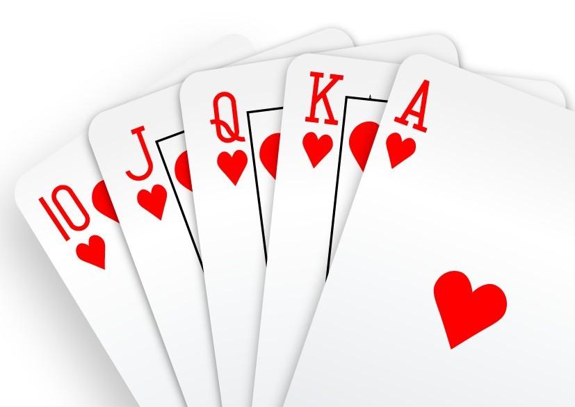 请问这个扑克牌上的是什么字体(如图)在线等!
