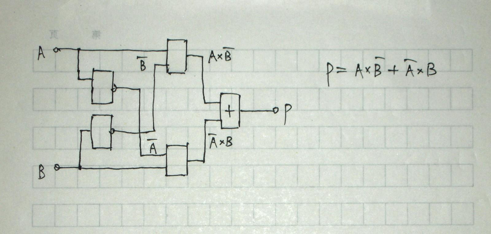 求助:cmos异或门电路分析