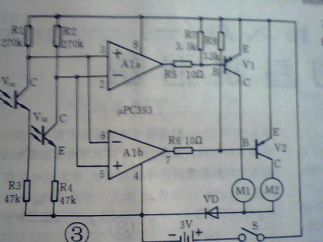 求遥控器控制电机正反转的电路图!