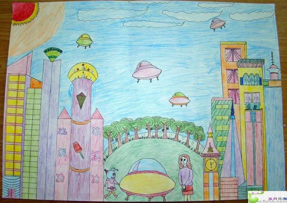 老师让我们画有关 我的中国梦(中国未来的发展)的绘画,大家有什么图片