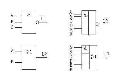 逻辑电路图怎么画