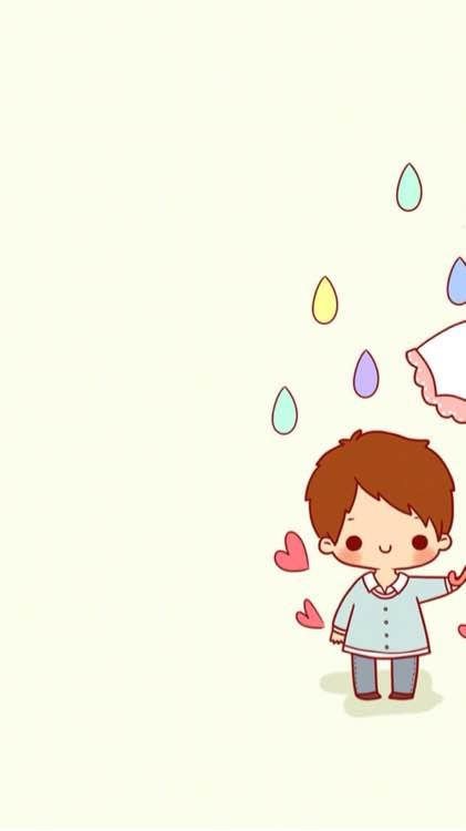 情侣壁纸一人一半带爱心的