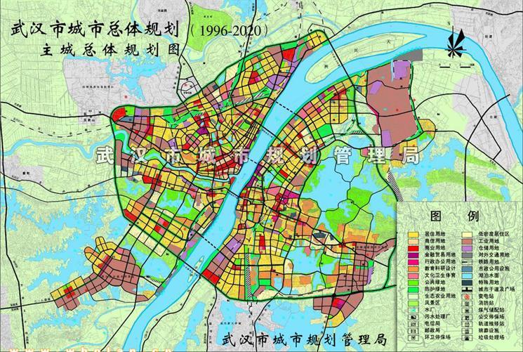 国务院关于武汉市城市总体规划的批复的介绍图片