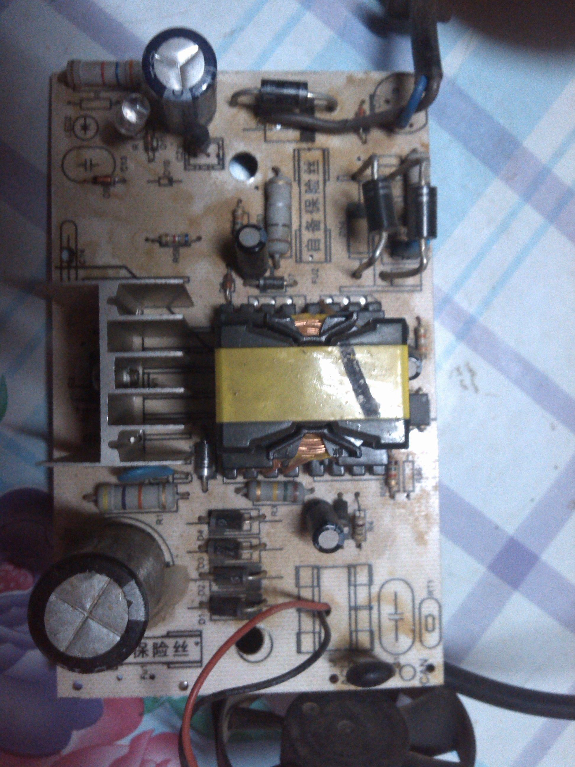 48v电动车充电器改成12v充电器(求详解,最好在图片上标明)