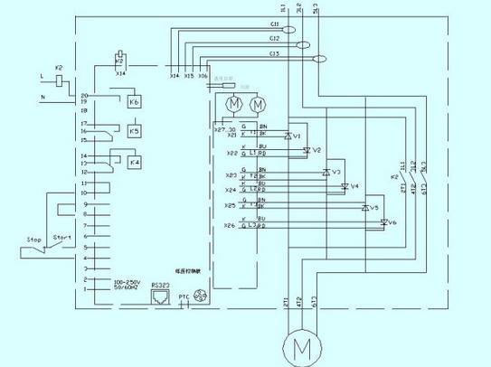 110发动机接线图.