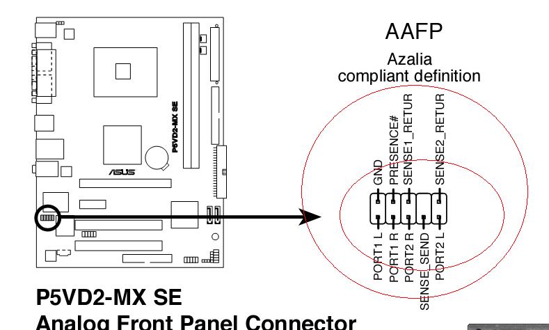 华硕p5vd2-mx se 的主板的接线问题