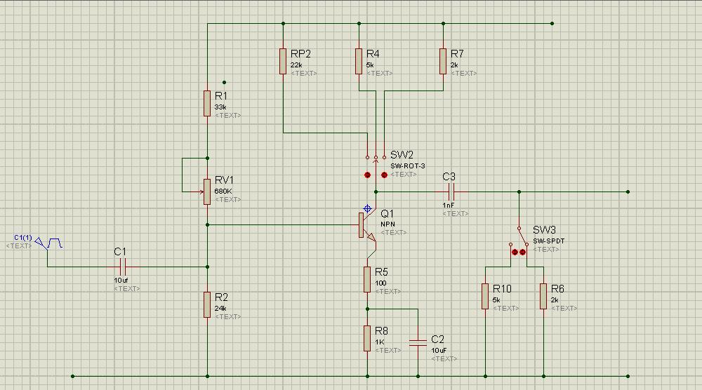 proteus的电路图,故障