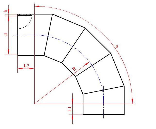 正圆台放样步骤及图形