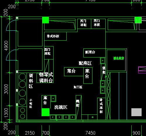流程酒店服务cad平面图难不难室内装修设计设计厨房图片