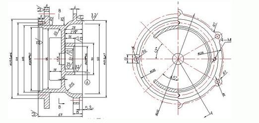 机械制造基础课程设计,要求零件图一张,毛坯图一张图片