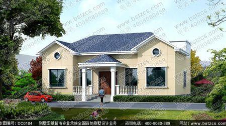 农村12米长x10米宽别墅设计图
