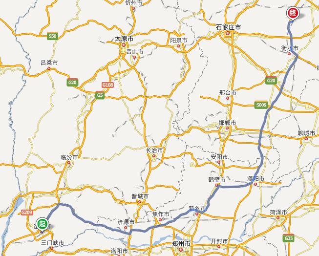 山东运城高速到衡水市饶阳高速收费站 怎么走图片