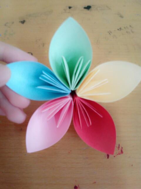 纸樱花的纸樱花制作图解