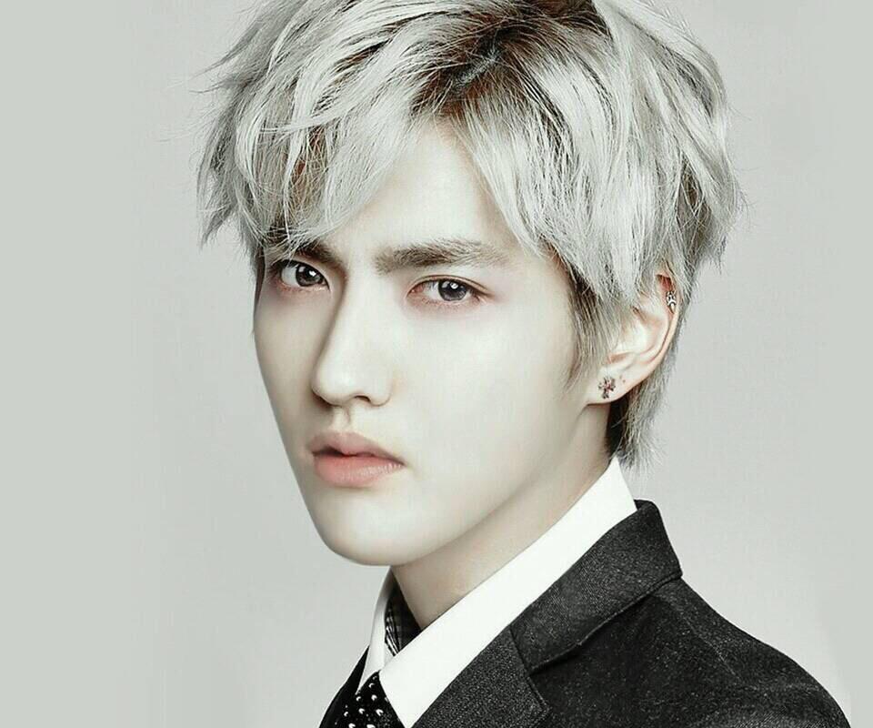 我是男生,染白色的头发挑染什么颜色好看,个人不喜欢深的颜色,头型是