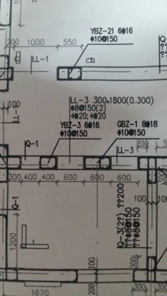 剪力墙里YBZ.GBZ,有区别,我从全套上看起别墅图纸欧式层图纸三图片