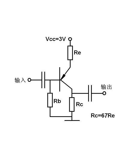 三极管pnp放大150倍的电路图