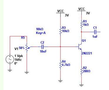 分压偏置三极管放大电路如何改变放大倍数和q?