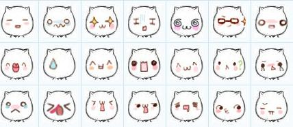 求qq表情猥琐猫萌化的表情包图片