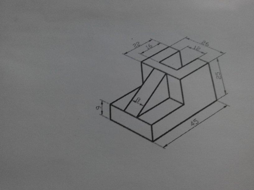 手绘角色三视图