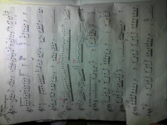 梁祝小提琴乐谱
