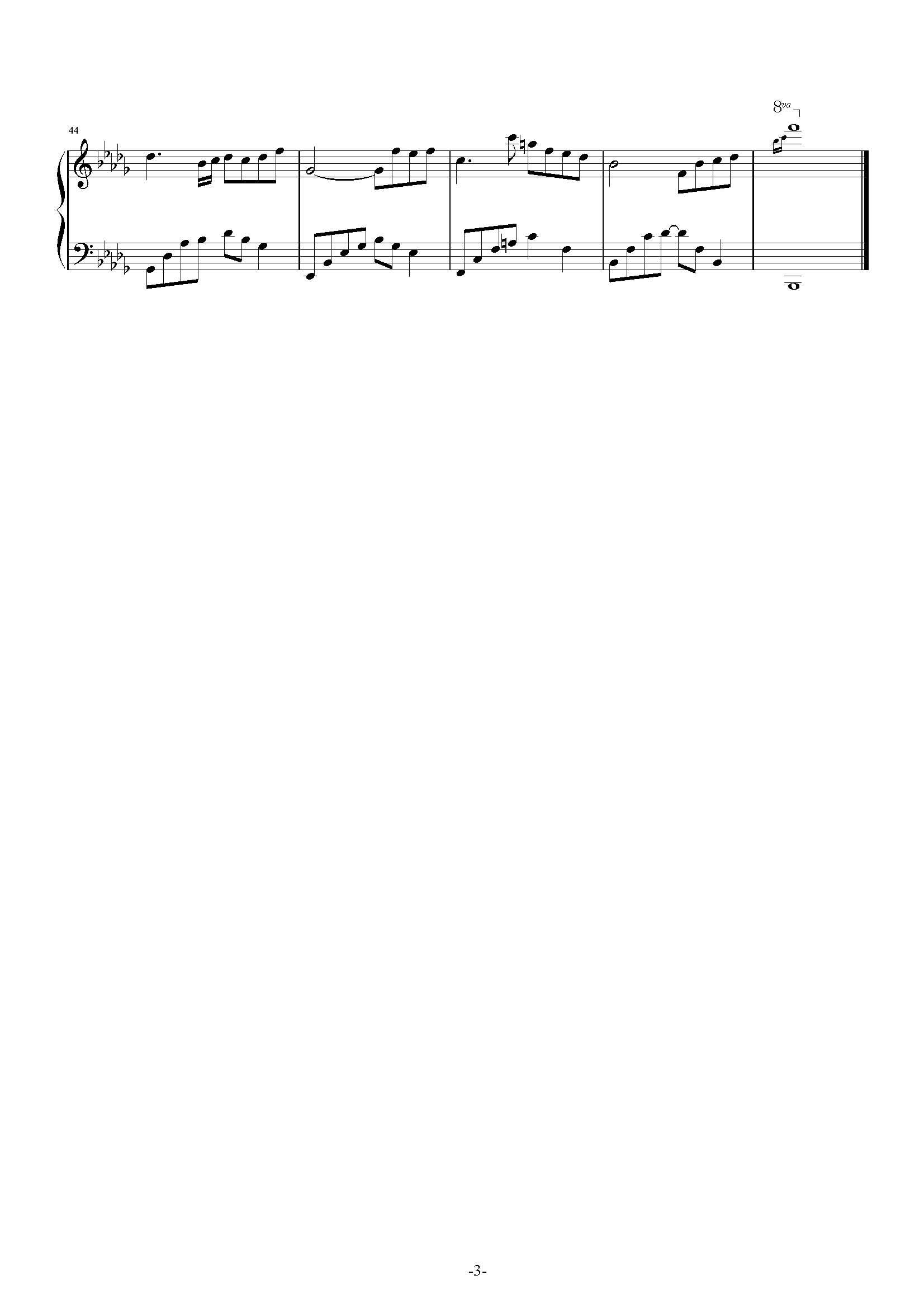 夜的钢琴曲28要简谱,实在没有可以发五线谱,谢谢