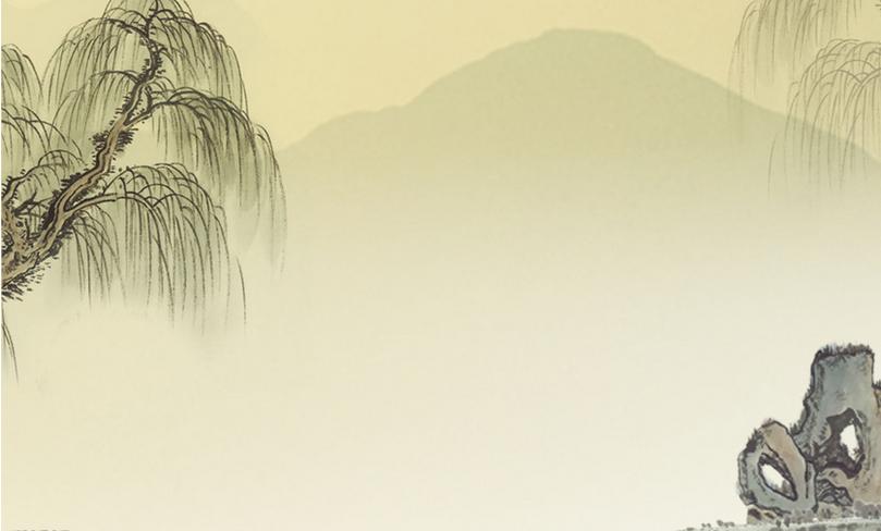古文给人的感觉是古典,淡雅,宁静,具有浓厚的中国风特色,其ppt背景图片