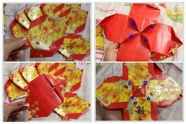 红包手工灯笼制作方法
